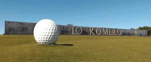 LR Lo Romero Golf Ball