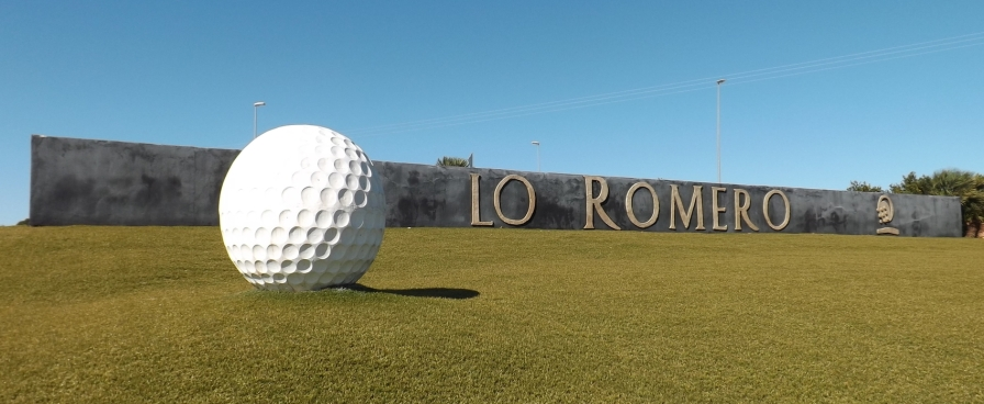 LR Lo Romero Golf Ball