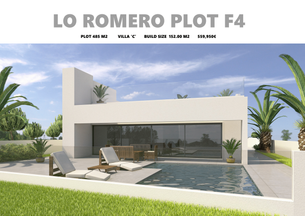 PLOT F4 LO ROMERO GOLF VILLA C-1