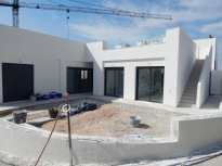 Corner 3 bedroom villa with huge roof solarium