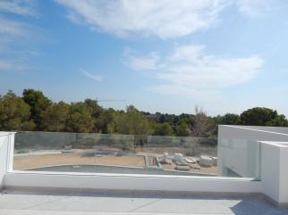 View from Villa Amapola HUGE roof solarium