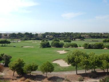 Fairway view from plots Lo Romero Golf